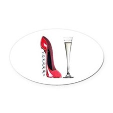 corkscrew shoe and champagne flute.jpg Oval Car Ma