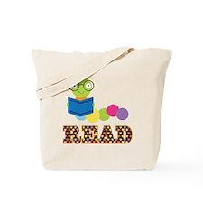 Fun Read Bookworm Tote Bag