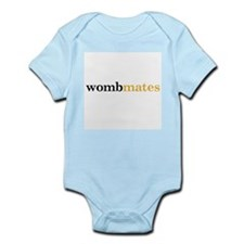 Wombmates_Orange Body Suit