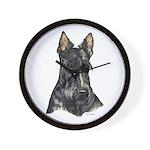 Scottish Terrier Scotty Wall Clock