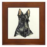 Scottish Terrier Scotty Framed Tile