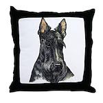 Scottish Terrier Scotty Throw Pillow