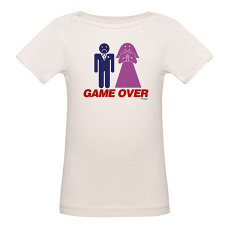Game Over Marriage Organic Baby T-Shirt