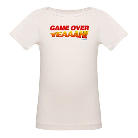 Game Over Yeaaah! Organic Baby T-Shirt