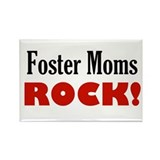 Cool Foster parents Rectangle Magnet