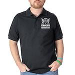 Vatican City Flag 3/4 Sleeve T-shirt (Dark)