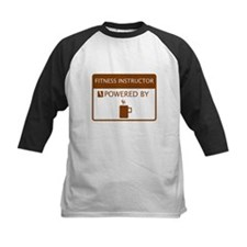 Fitness Instructor Powered by Coffee Tee