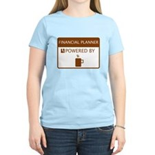 Financial Planner Powered by Coffee T-Shirt