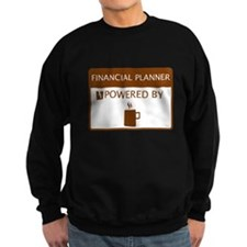 Financial Planner Powered by Coffee Jumper Sweater