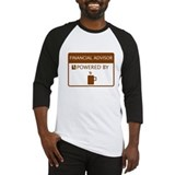 Financial Advisor Powered by Coffee Baseball Jerse