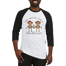 43rd Anniversary Love Monkeys Baseball Jersey