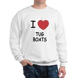 I heart tug boats Sweatshirt