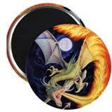 Fire Dragon Magnet