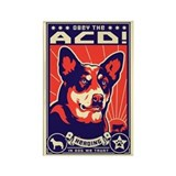 Obey the ACD! Dictator Propaganda Magnet