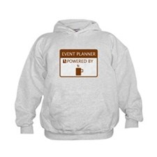 Event Planner Powered by Coffee Hoodie