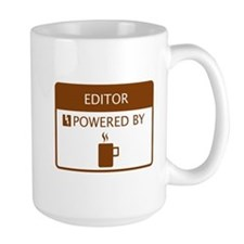 Editor Powered by Coffee Mug