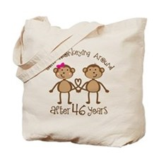 46th Anniversary Love Monkeys Tote Bag