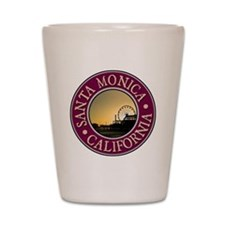 Santa Monica Shot Glass