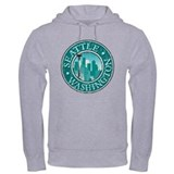 Seattle - Distressed Hoodie
