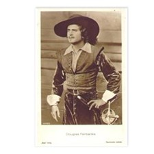 Douglas Fairbanks Photo Postcards (Package of 8)