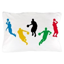 Basketball Players Pillow Case