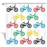 BMX Bikes Shower Curtain