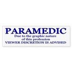 PARAMEDIC viewer discretion is advised STICKER