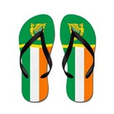 Irish Ireland Eire Flip Flops
