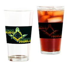 Prince Hall Masons Drinking Glass