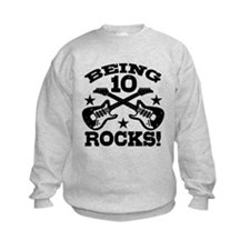Being 10 Rocks Sweatshirt