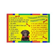 Cute I love my labrador Rectangle Magnet (100 pack)