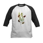 Butterflies of Summer Kids Baseball Jersey