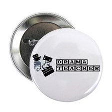 "Drama Teacher 2.25"" Button (100 pack)"