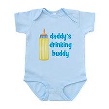 Daddys Drinking Buddy Infant Bodysuit