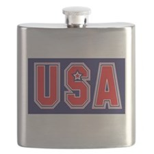 USA w STAR Flask