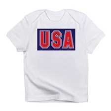 USA w STAR Infant T-Shirt