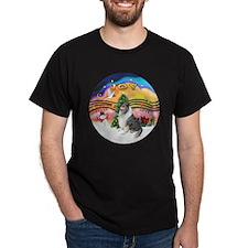 XMusic2-BlueM Collie T-Shirt