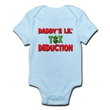 Daddys Lil Tax Deduction Onesie