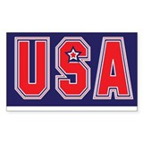 USA w STAR Decal