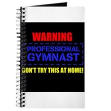 Cool Gymnast warning Journal