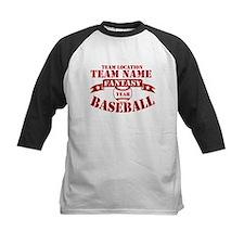 Your Team Fantasy Baseball Red Tee