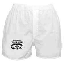 Fantasy Football Personalized Team Boxer Shorts