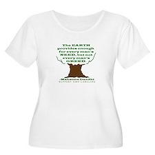 Need not Greed T-Shirt