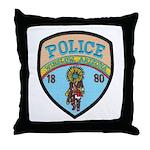 Winslow Police Throw Pillow