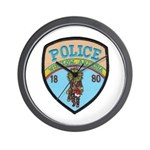 Winslow Police Wall Clock