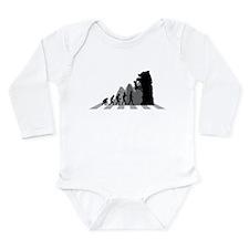 Climbing Long Sleeve Infant Bodysuit