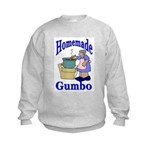 New Orleans Food: Gumbo Kids Sweatshirt