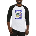 New Orleans Food: Gumbo Baseball Jersey