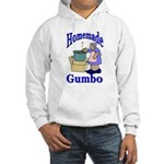 New Orleans Food: Gumbo Hooded Sweatshirt