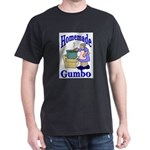 New Orleans Food: Gumbo Black T-Shirt